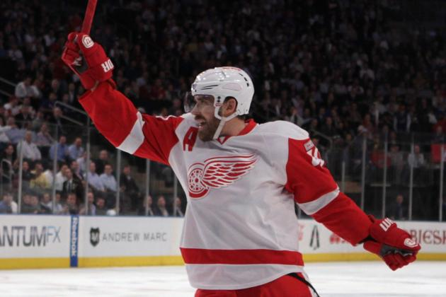 Zetterberg Hat Trick Video