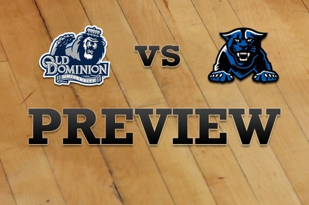 Old Dominion vs. Georgia State: Full Game Preview