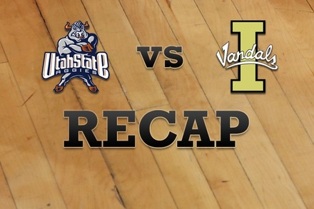 Utah State vs. Idaho: Recap and Stats