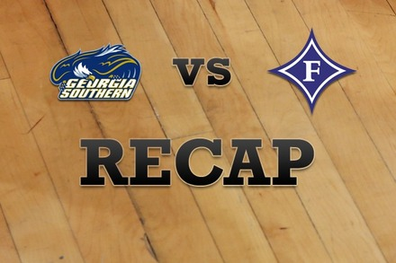 Georgia Southern vs. Furman: Recap and Stats