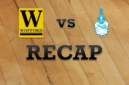 Wofford vs. Citadel: Recap and Stats