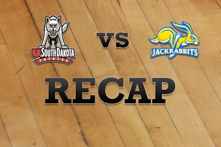 South Dakota vs. South Dakota State: Recap and Stats