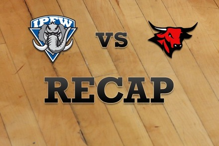 IPFW vs. Nebraska-Omaha: Recap and Stats