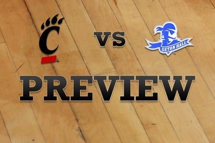 Cincinnati vs. Seton Hall: Full Game Preview