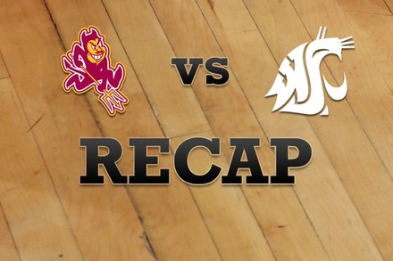 Arizona State vs. Washington State: Recap and Stats