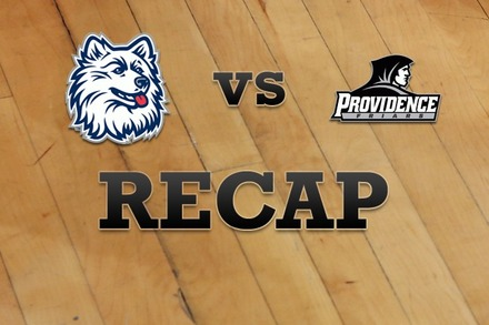 Connecticut vs. Providence: Recap and Stats