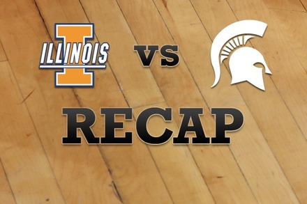Illinois vs. Michigan State: Recap and Stats