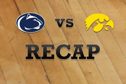 Penn State vs. Iowa: Recap and Stats