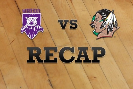 Weber State vs. North Dakota: Recap and Stats