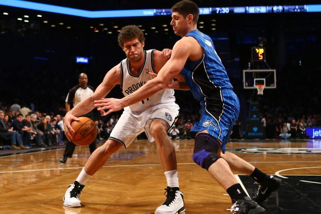 Brook Lopez, Bench Lift Nets to 93-89 Win over Bulls