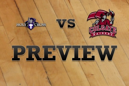 Holy Cross vs. Colgate: Full Game Preview