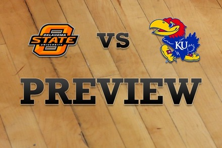 Oklahoma State vs. Kansas: Full Game Preview