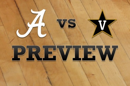 Alabama vs. Vanderbilt: Full Game Preview