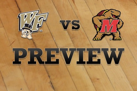Wake Forest vs. Maryland: Full Game Preview