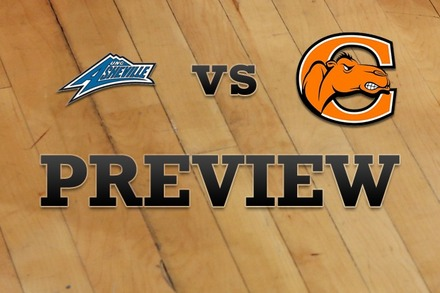 UNC Asheville vs. Campbell: Full Game Preview