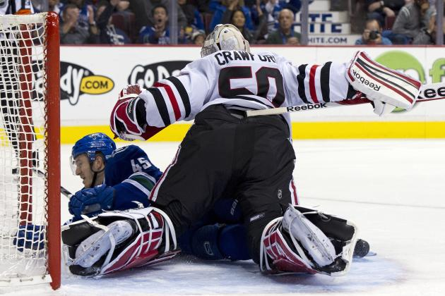Lack of Offense Sends Blackhawks to Second Consecutive Loss