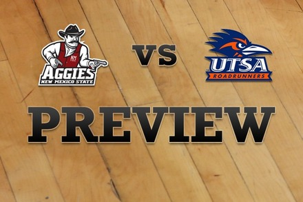 New Mexico State vs. Texas at San Antonio: Full Game Preview