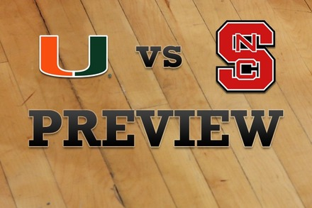 Miami vs. NC State: Full Game Preview