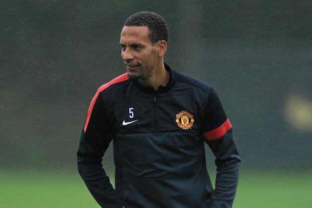 Manchester United Defender Rio Ferdinand Patient over Contract