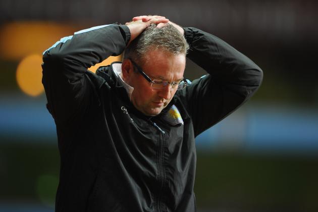 Aston Villa Manager Paul Lambert Thinks Criticism Is Unfair