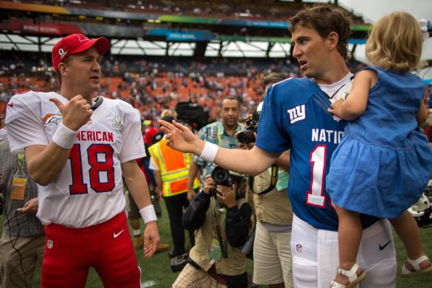 Eli Manning Would Love to Face His Brother Peyton in a Super Bowl