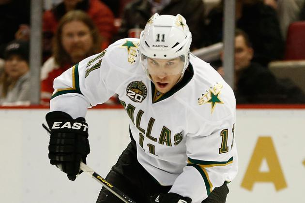 After Injuries and Holdouts, Derek Roy Is the Only Thing Preventing the Stars...