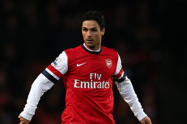 Arteta Returns as Monreal Starts in His Debut