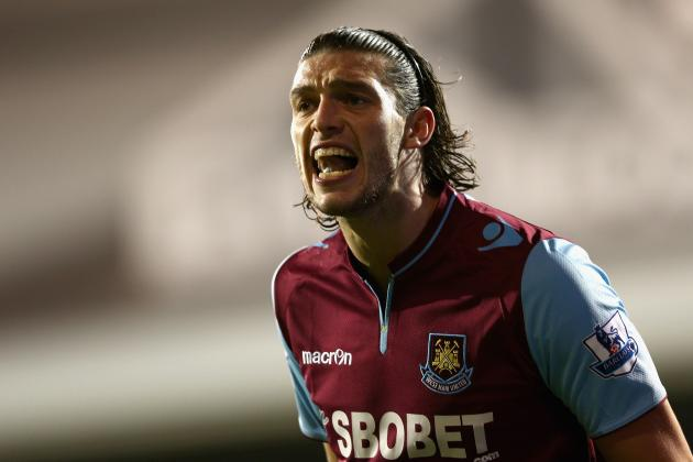 Andy Carroll Starts vs. Swansea City as Joe Cole Begins on Bench