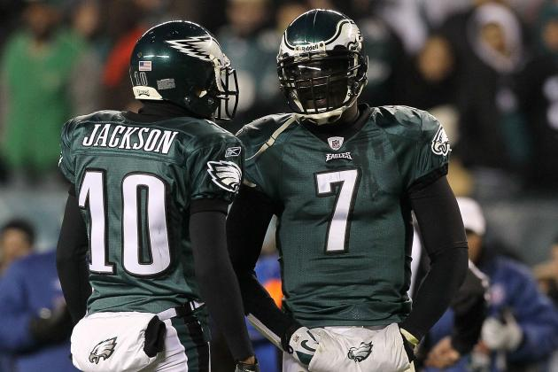 WR Jackson on Keeping Vick: 'It's a No-Brainer'