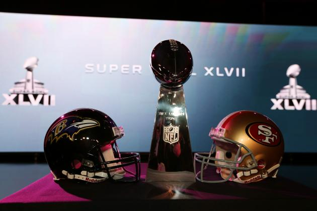 Super Bowl 2013 Live Stream: Final Online Viewing Info for Ravens vs. 49ers