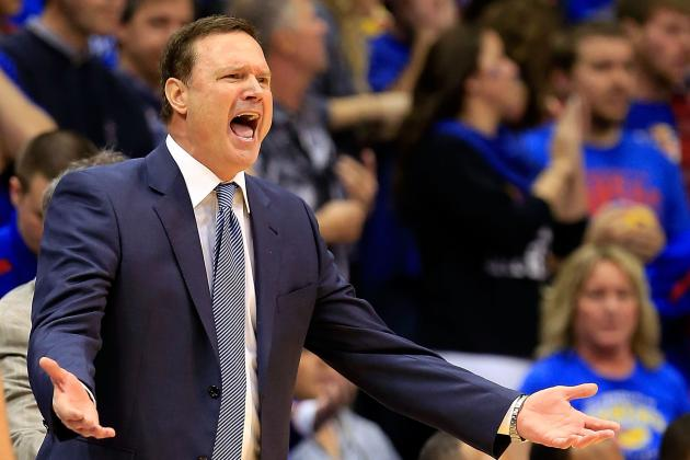 Kansas Coach Self Fumes over Turnovers