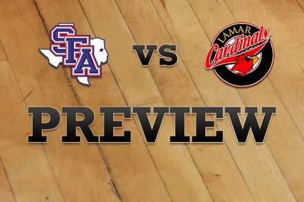 Stephen F. Austin vs. Lamar: Full Game Preview