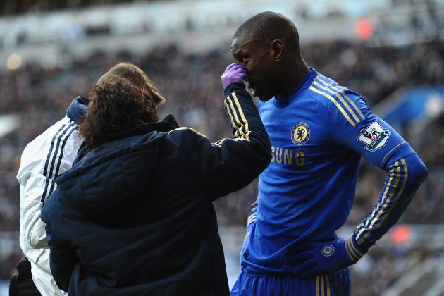 Demba Ba Injury: Updates on Chelsea Star's Nose