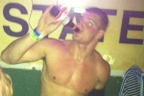 Gronk Parties in NOLA