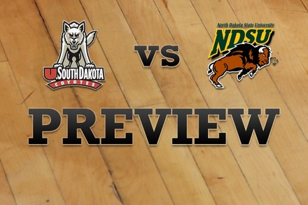 South Dakota vs. North Dakota State: Full Game Preview