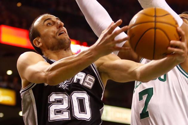 Ginobili Out, Duncan Probable vs. Wizards