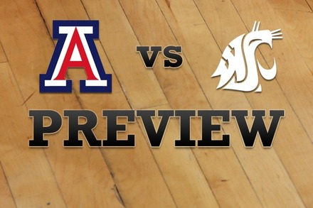 Arizona vs. Washington State: Full Game Preview