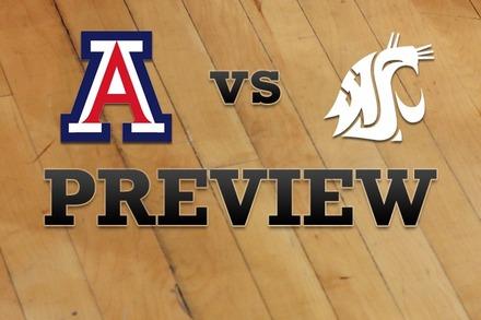Arizona vs. Washington State: Full Game Preview