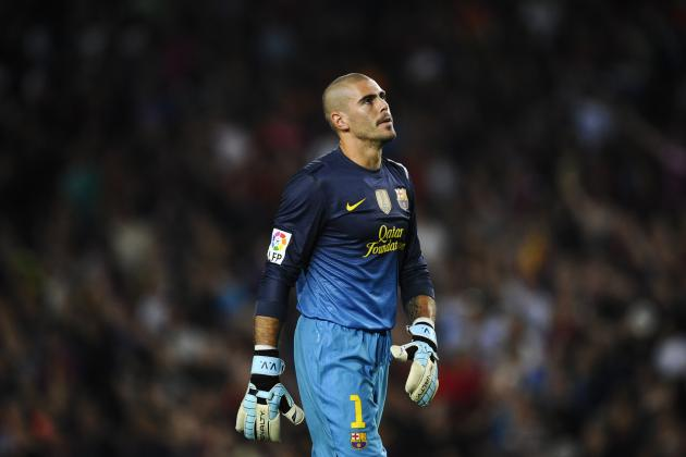 Will Victor Valdes Still Be Barcelona's No. 1 Goalkeeper Next Season?