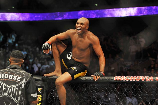 Dana White: 'I Would Love to See Anderson Silva at 205 Pounds, It Would Be Fun'
