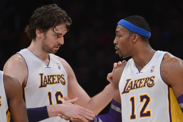 Dwight Howard Injury: Lakers Can't Trade Pau Gasol with Center Sidelined