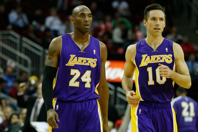 Is Kobe Bryant a Better Point Guard Than Steve Nash?