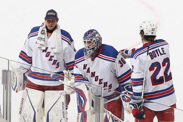 Lundqvist Sits, Biron to Get First Start for Rangers vs. Lightning