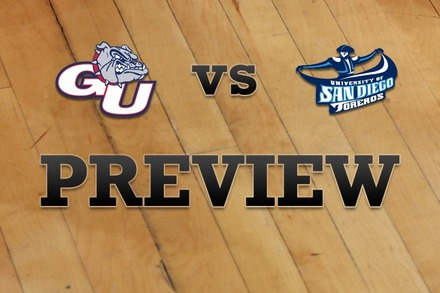 Gonzaga vs. San Diego: Full Game Preview