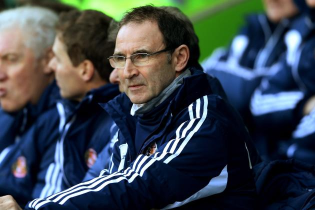 Martin O'Neill Disappointed to See His Sunderland Side Lose at Reading