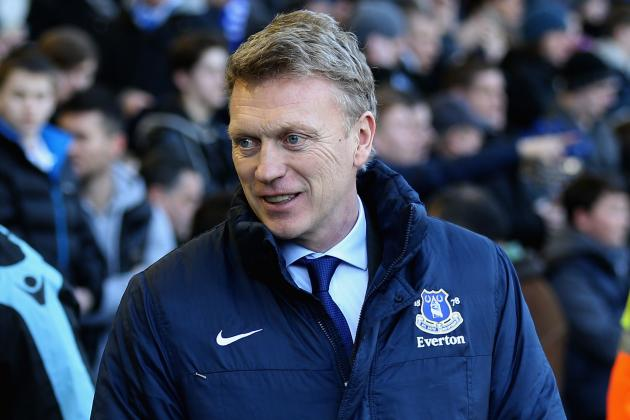 Everton Manager David Moyes Pleased with Fightback Against Aston Villa