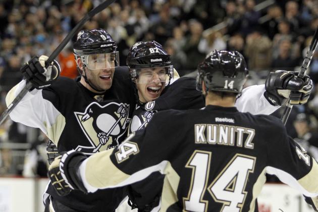 Penguins Beat the Devils, 5-1