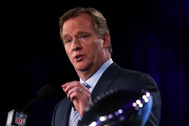 Goodell Says Low Blocks and Field Quality Are Also Safety Concerns