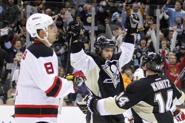 Penguins 5, Devils 1