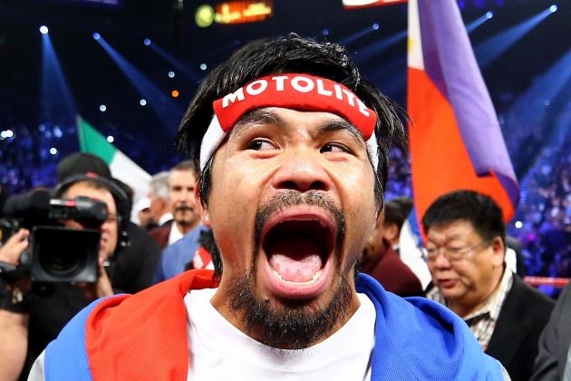 Manny Pacquiao: Breaking Down Likeliest Opponents for Pac Man's Next Fight